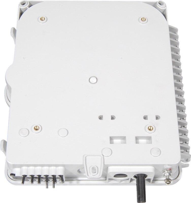 Image 2 - FTTH 12 cores fiber Termination Box 12 port 12 channel Splitter Box indoor outdoor fiber Splitter Box ABS-in Fiber Optic Equipments from Cellphones & Telecommunications