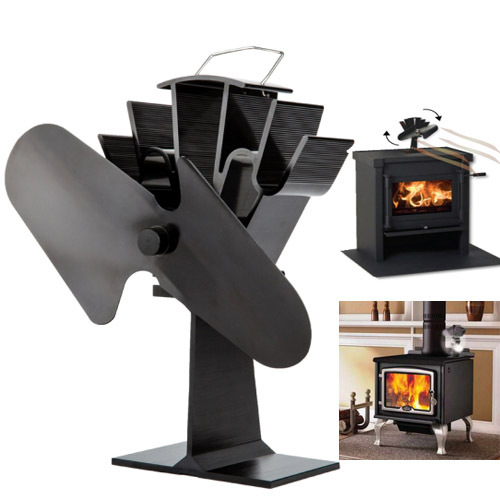 fan bamboo picture more detailed picture about eco friendly heat powered stove fan for wood. Black Bedroom Furniture Sets. Home Design Ideas
