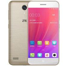 Продажа Оригинальный zte лезвие A520 мобильный телефон 2 г Оперативная память 16 г Встроенная память 5,0 дюймов Дуа Kartu SIM спереди и сзади камера 4 ядра 720 P Android 6,0