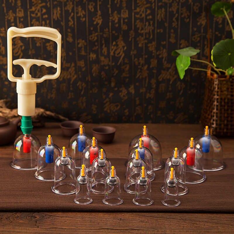 Yuwell Vide Ventouses Massage Ensemble Magnétique Aiguilles D'acupuncture Clair Vide Ventouse Ventouses avec Pompe Médicale de Thérapie de Ventouses - 6