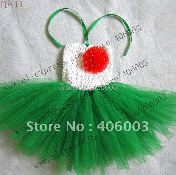 Рождественское платье-пачка 6*6 дюймов