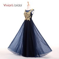Vivians bridal gold appliques sleeve a line mother of the bride dresses tulle mother dress for.jpg 200x200