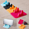 Universal Desk Holder Soft Silicone Desktop Anti Slip Mat Holder Bracket For Samsung iphone 6s Xiaomi Moible Phone Holder Car