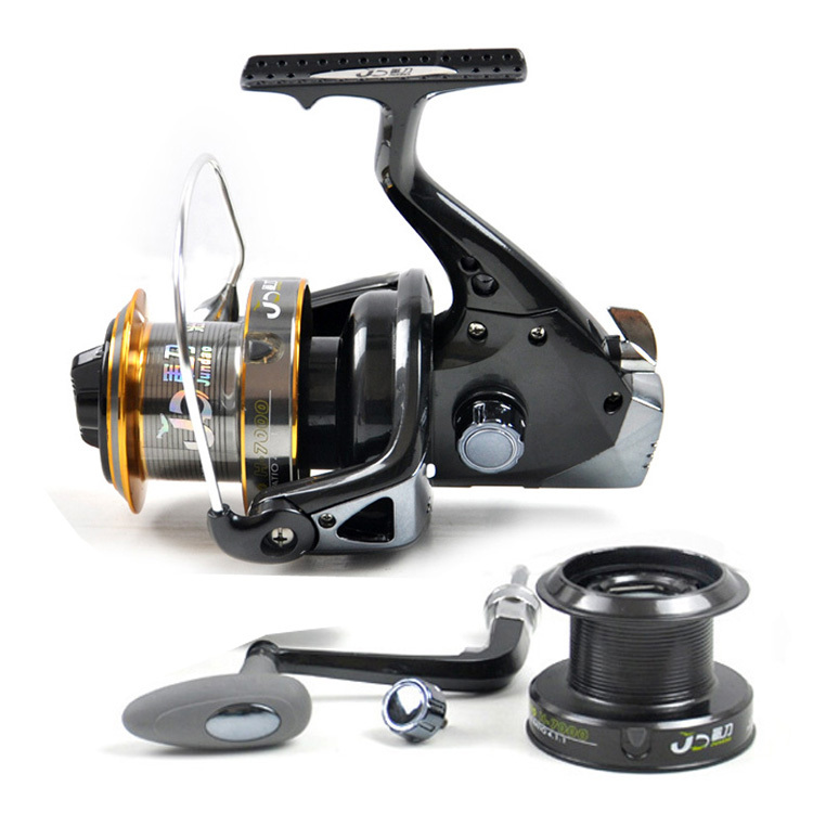 10BB  4.1:1  7000 Surf Casting Reel Metal Spinning Fishing Reel Long Shot Wheel Saltwater Reels Pesca Fishing Tackles new type superior metal arm 13 1bb 4000 7000 series surf spinning fishing reels big long shot casting fly sea wire cup wheels
