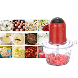 Image 5 - Automatic Powerful Electric Meat Grinder Multifunctional Electric Food Processor Electric Chopper Meat Slicer Cutter Blender(E