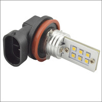 Ruiandsion 2pcs H7 H11 H8 3030 12SMD LED 9005 HB3 9006 HB4 720Lm Car DRL DAY
