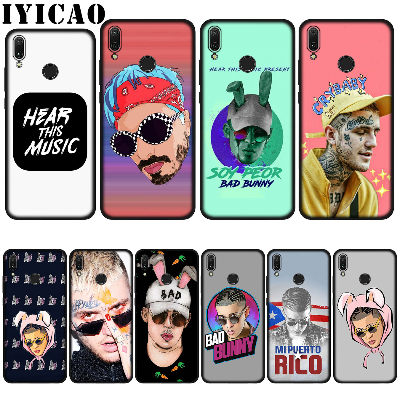 Fitted Cases Responsible Iyicao Bad Bunny Maluma Lil Peep Leading Silicone Soft Case For Huawei P20 Pro P10 P8 P9 Lite Mini 2017 P Smart 2019 Cover Low Price