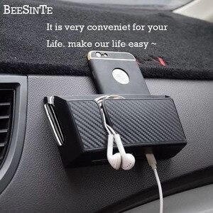 Image 2 - Auto telefon halter Handy Ständer für iphone samsung huawei xiaomi Halterung lagerung box halterung Universal Heißer freeship