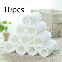 10pcs Pack 3 Layers Of Ecological Cotton Diapers Ultra Suction Baby Diapers Can Be Repeated Wash