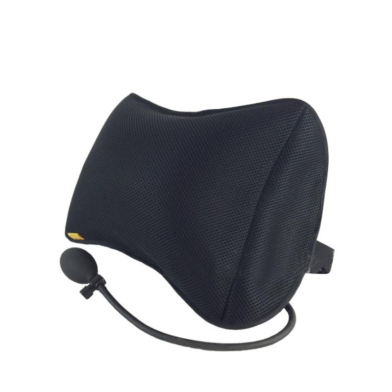 Infot Portable Gonflable Soutien Lombaire Coussin/Massage Oreillers Orthopédiques Conception pour le Dos Soulagement de La Douleur Lombaire Oreiller de Soutien