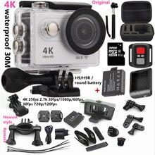"""Original h9/h9r acción cámara Ultra HD 4 K WiFi 1080 p/60fps 2.0 """"pantalla 170 lente xiao yi estilo impermeable 4 k cámara gopro"""