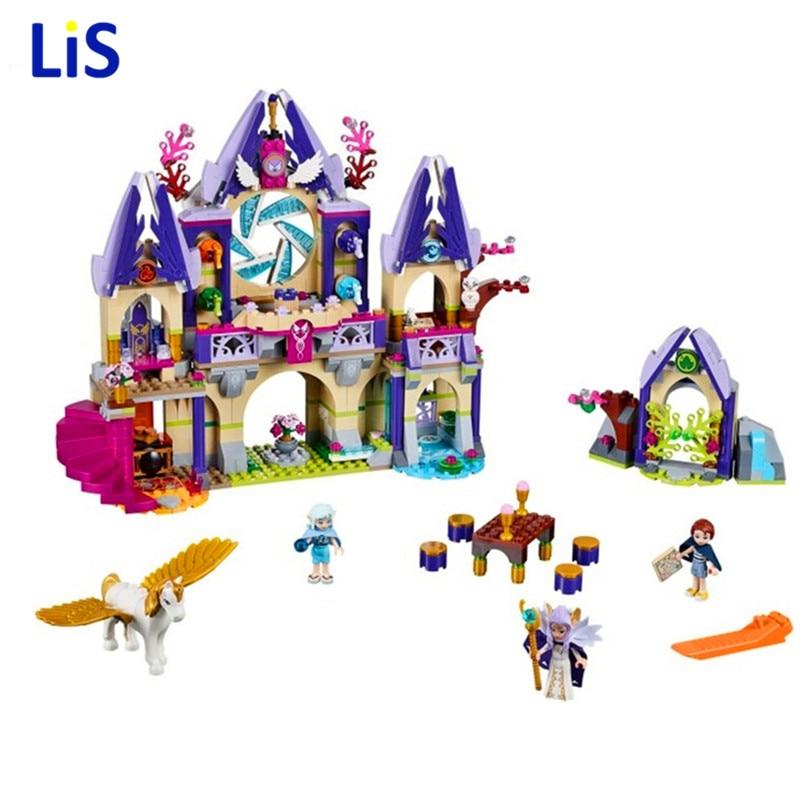 809pcs BELA 10415 Compatible Legoingly Elves series Skyra