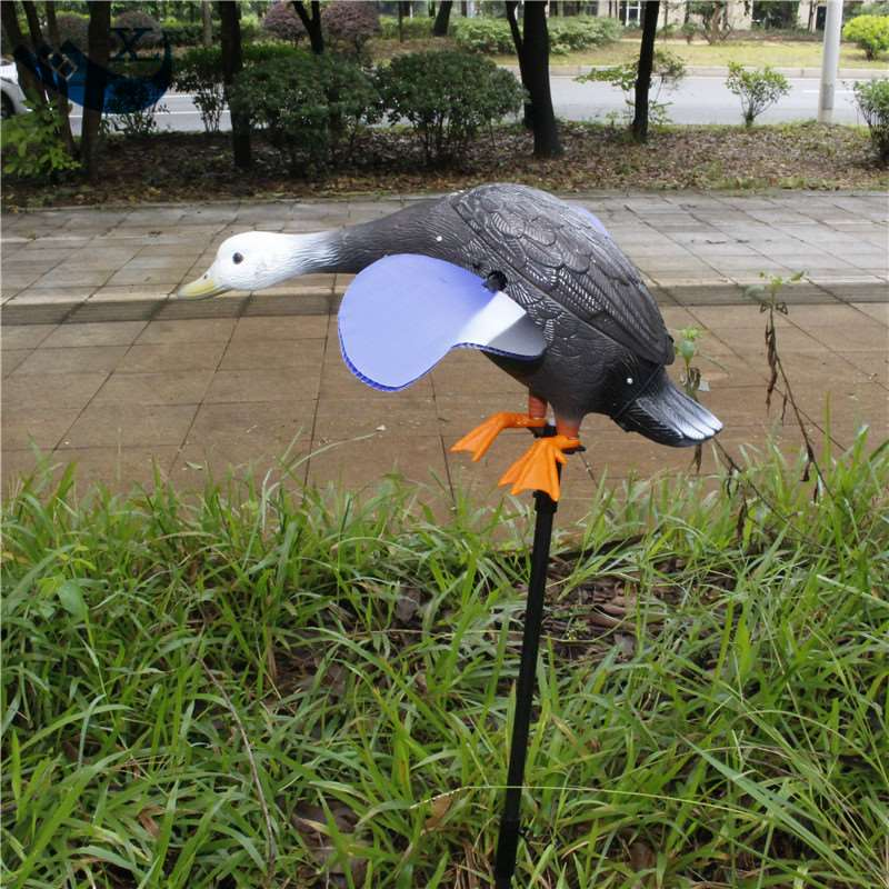 ФОТО Outdoor Hunting Hdpe Plastic Decoys 6V Motor Duck Decoys Decoy Duck Spinning Wings