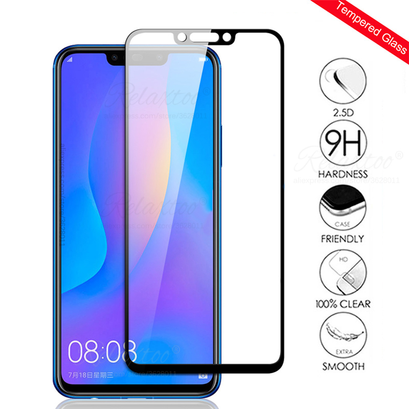 Protective Glass On For Huawei Nova 4e 4 3 3e 3i Tempered Glass Hawei Nova4 Nova3 I E Nova3e Nova3e Nova4e Screen Protector Film