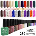 #30917 CANNI 7.3ml UV Gel Nail Polish 239 Color Nail Gel Polish Semi Permanent Top Base Coat Gel Lak Varnishes Gelpolish