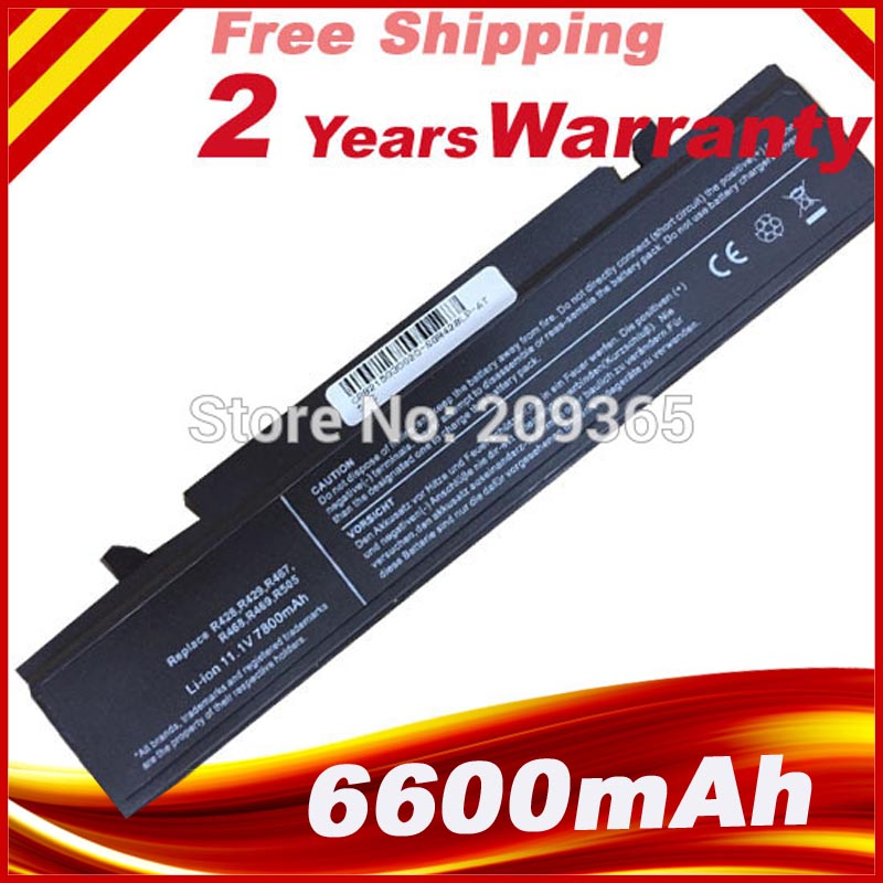 6600mAh <font><b>battery</b></font> for <font><b>Samsung</b></font> <font><b>RC510</b></font> RC530 RC710 RF411 RF510 RV410 RV411 RV415 RV510 RV508 image