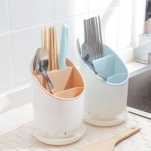 купить kitchenware storage accessories rack organizer chopsticks knives forks spoon drainer shelf items block home holder дешево