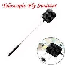Пластиковая телескопическая раскладная мухобойка предотвращает вредителей комаров инструмент мух ловушка против комаров и вредителей отвергать насекомых