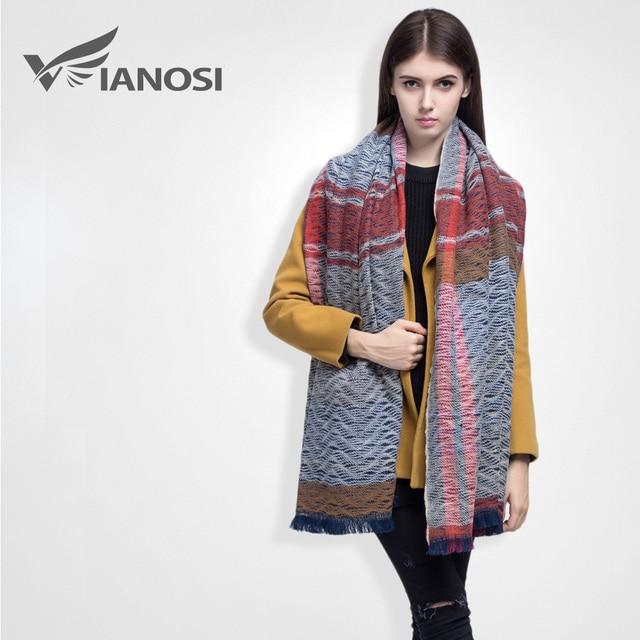 [ VIAONS ] 2015 новизнасгущает зимний шарф женские мода шарф платки женщины теплыйшарфы VS010