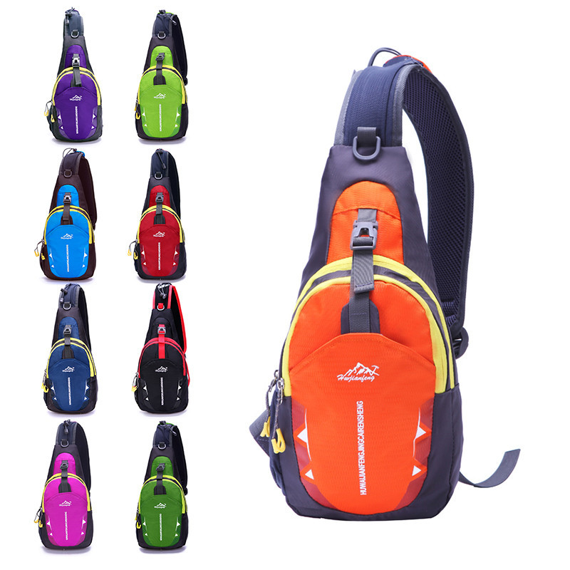 High Capacity Waterproof Chest Bag Outdoor Sport Travel Hiking Shoulder Sling Backpack Pouch Functional Bags Waist Packs