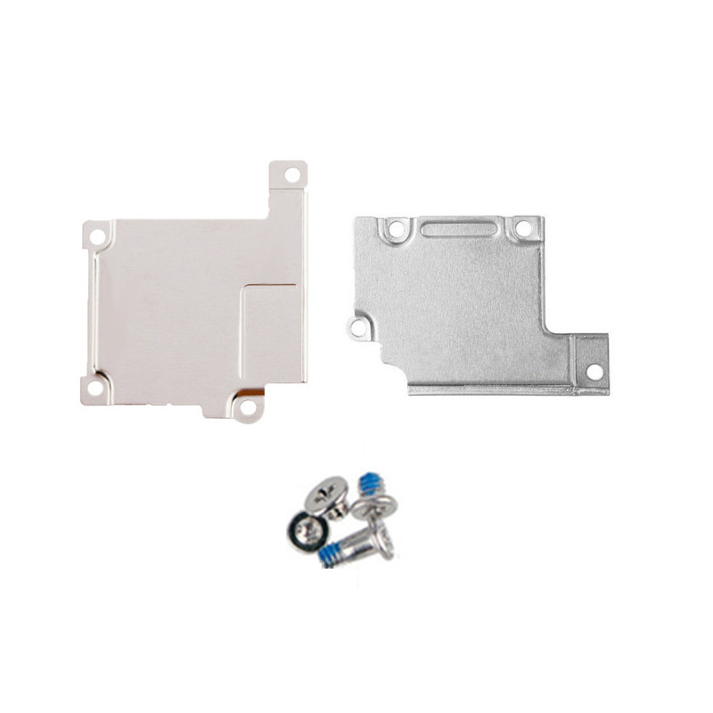 5Sets Cover Plate Holder Screw For iPhone 7 6 6S Plus 5 5S 5C SE Front Camera Lcd Touch Screen Flex Cable Metal Holder Bracket