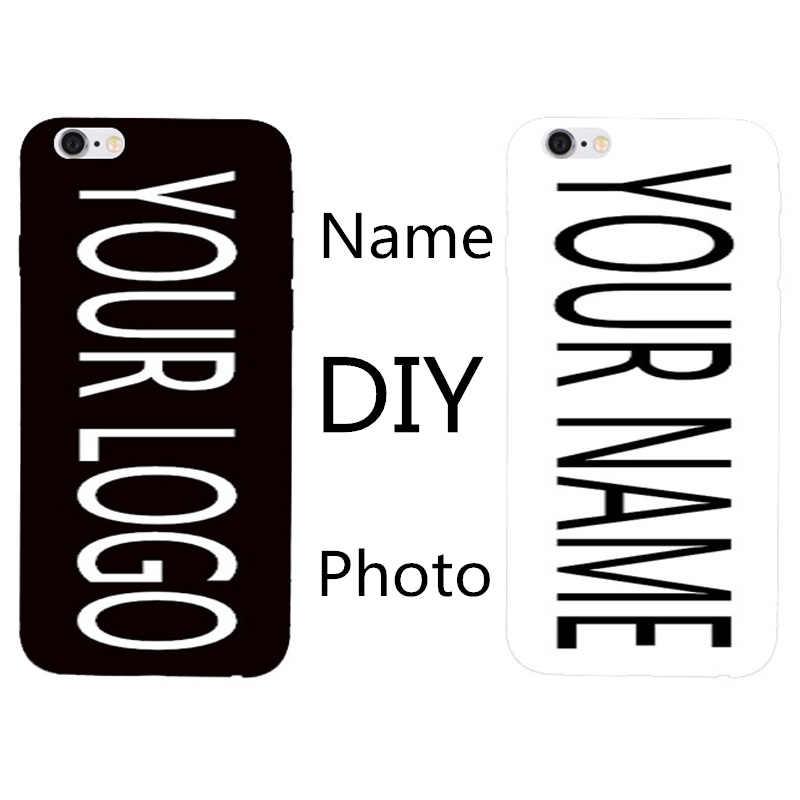 DIY شخصية مخصص اسم الصورة تخصيص الطباعة تصميم الصورة غطاء حالة ل Asus Zenfone 4 ماكس ZC520KL 5.2''