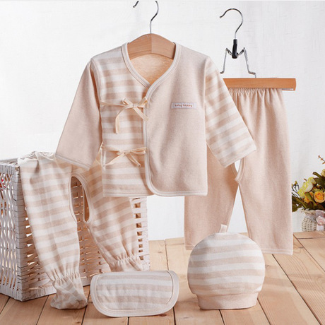 Baby's Sets Baby Clothing organic cotton newborn clothes 5 ...