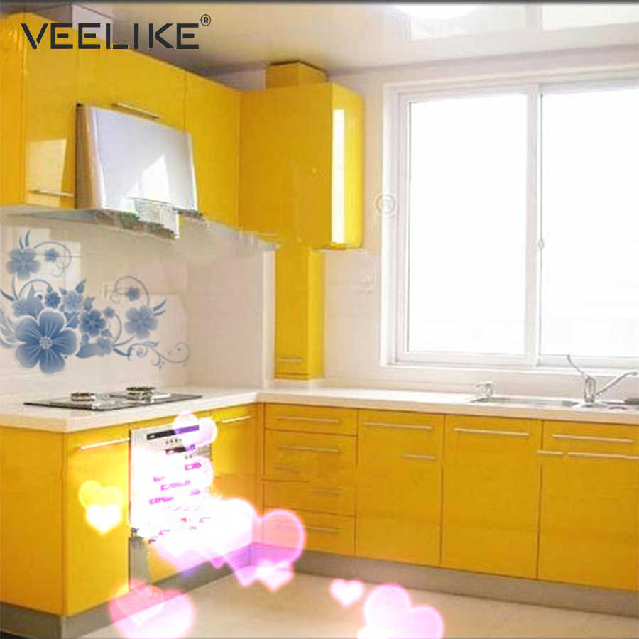 Fine Glossy Pvc Vinyl Contact Paper For Kitchen Cabinets Door Cover Stickers Home Decor Waterproof Removable Self Adhesive Wallpaper Download Free Architecture Designs Itiscsunscenecom
