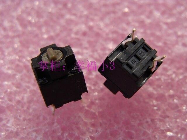 Galleria fotografica 10 pz/lotto 100% originale made in China piazza del mouse micro interruttore pulsante del mouse per Panasonic riparazione <font><b>Microsoft</b></font> mouse puntino marrone