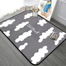 Cute Clouds Kids Room Play Tents Carpets Nordic Plants Cactus Home Decor Carpet Living Rugs Geometric Bedroom Floor Mat