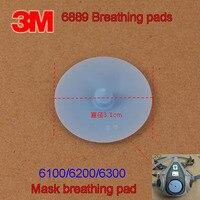 Válvula de exhalación 3M 6889 6100/6200/6300 máscara de Gas válvula de respiración azul Junta piezas de repuesto|parts| |  -
