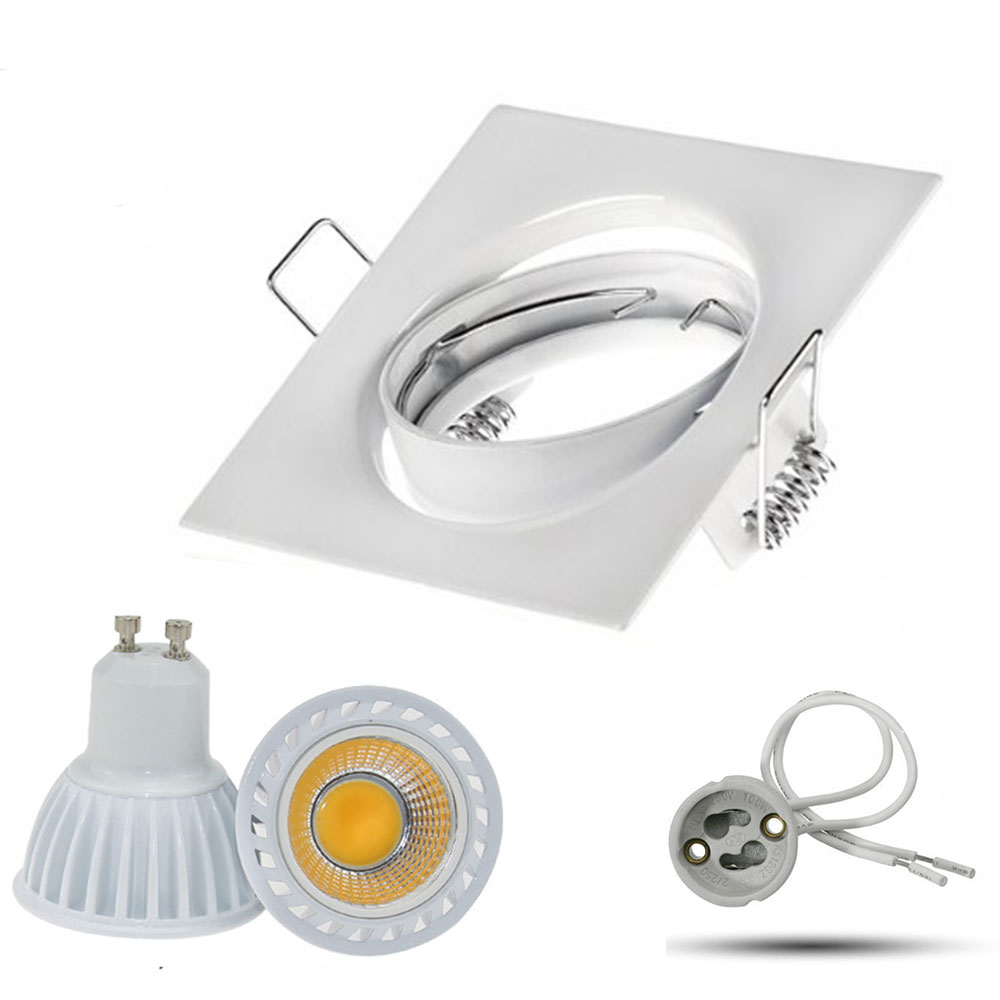 Levou Holofotes teto rebaixado spot light cob Color : Ceiling Spot Light White