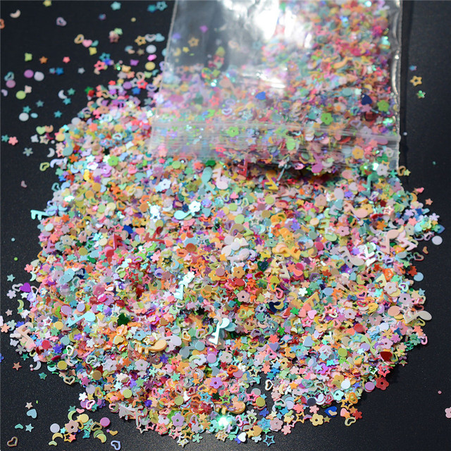 5000pcs Colorful Sequins Birthday Party Confetti Five Star Baby