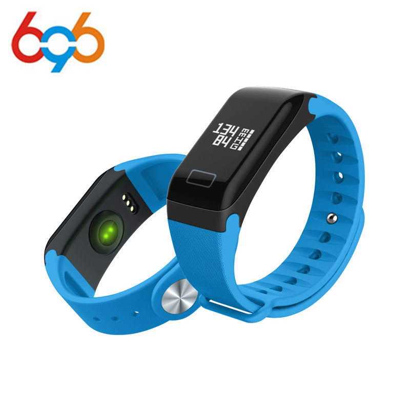 696 Fitness Tracker Wristband Heart Rate Monitor Smart Band F1 Smartband Blood Pressure With Pedometer Bracelet