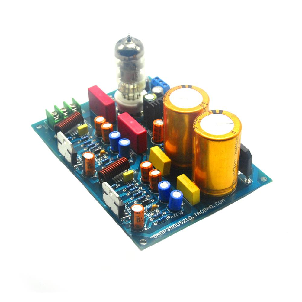 HIFI AMP Tube 6N11 + TDA7293 Stereo Power Amplifier Board 100W+100W AC28-0-AC28V