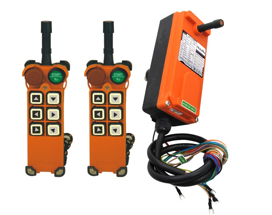 Industrial Hoist Crane Wireless remote control F21-E1 2Transmitter+1Receiver AC/DC 65V-440V