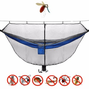 Image 2 - Portable Hammock Mosquito net Camping Survival Garden  Hunting Leisure Hamac Travel Double Person Hamak