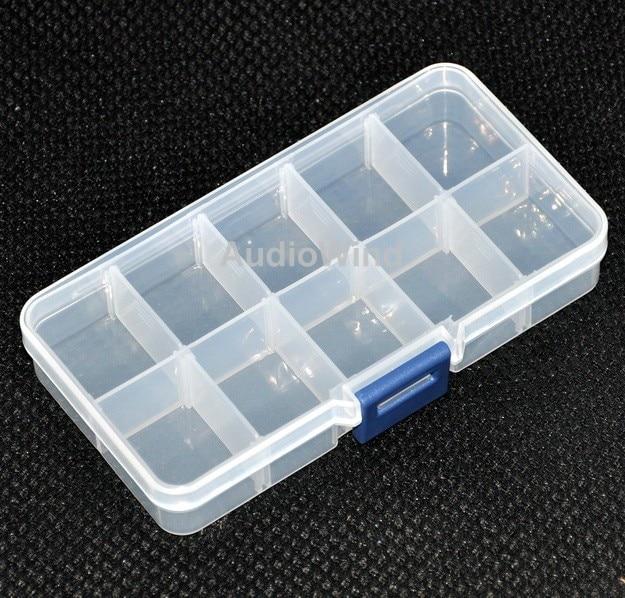 ( 10 Pcs/lot ) Ten Grid Plastic Component Box. 5.2