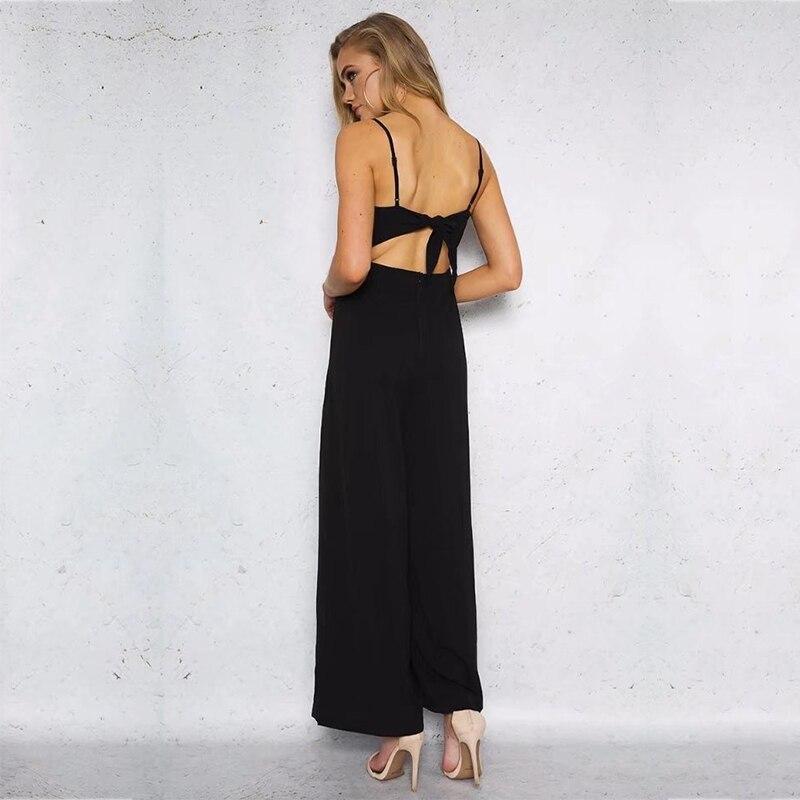 MUXU комбинезон пикантные женские комбинезоны для женщин Европа и Соединенные Штаты комбинезоны широкие брюки комбинезон спинки тела femme
