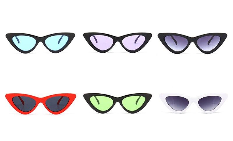 cute sexy retro cat eye sunglasses women small 0310 details (2)