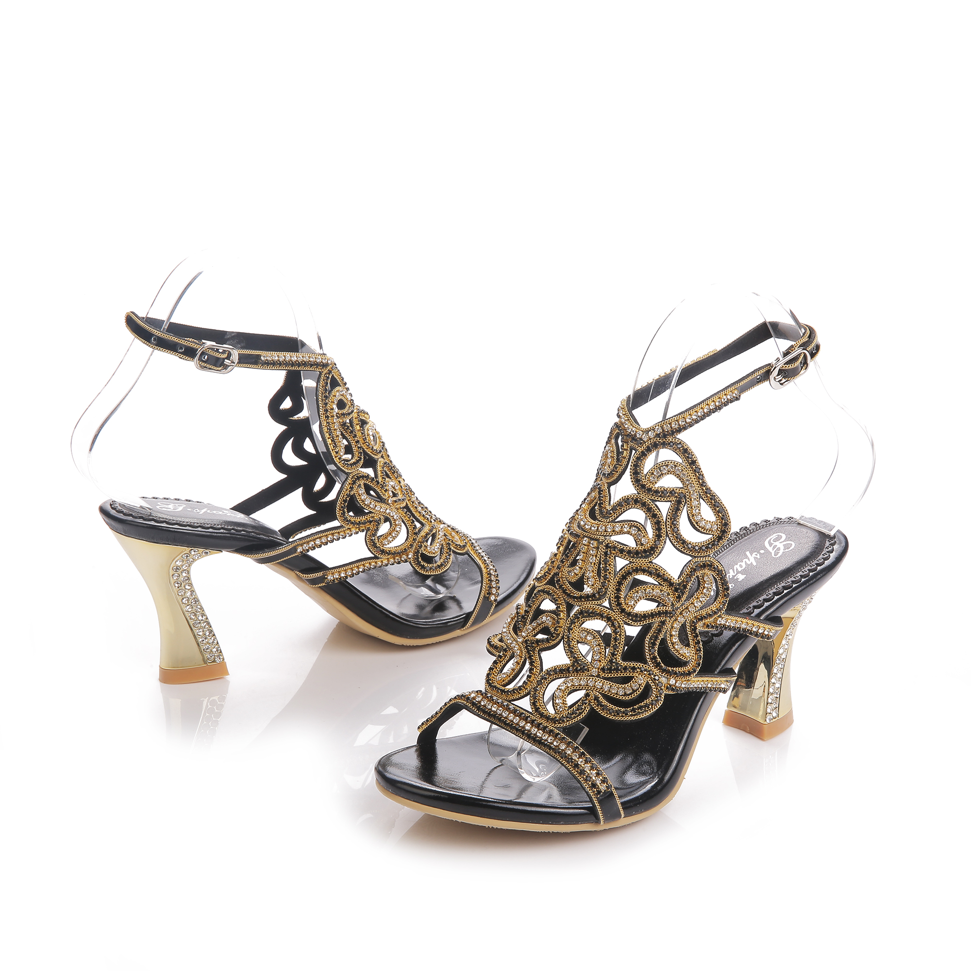 popular gold strappy heels buy cheap gold strappy heels