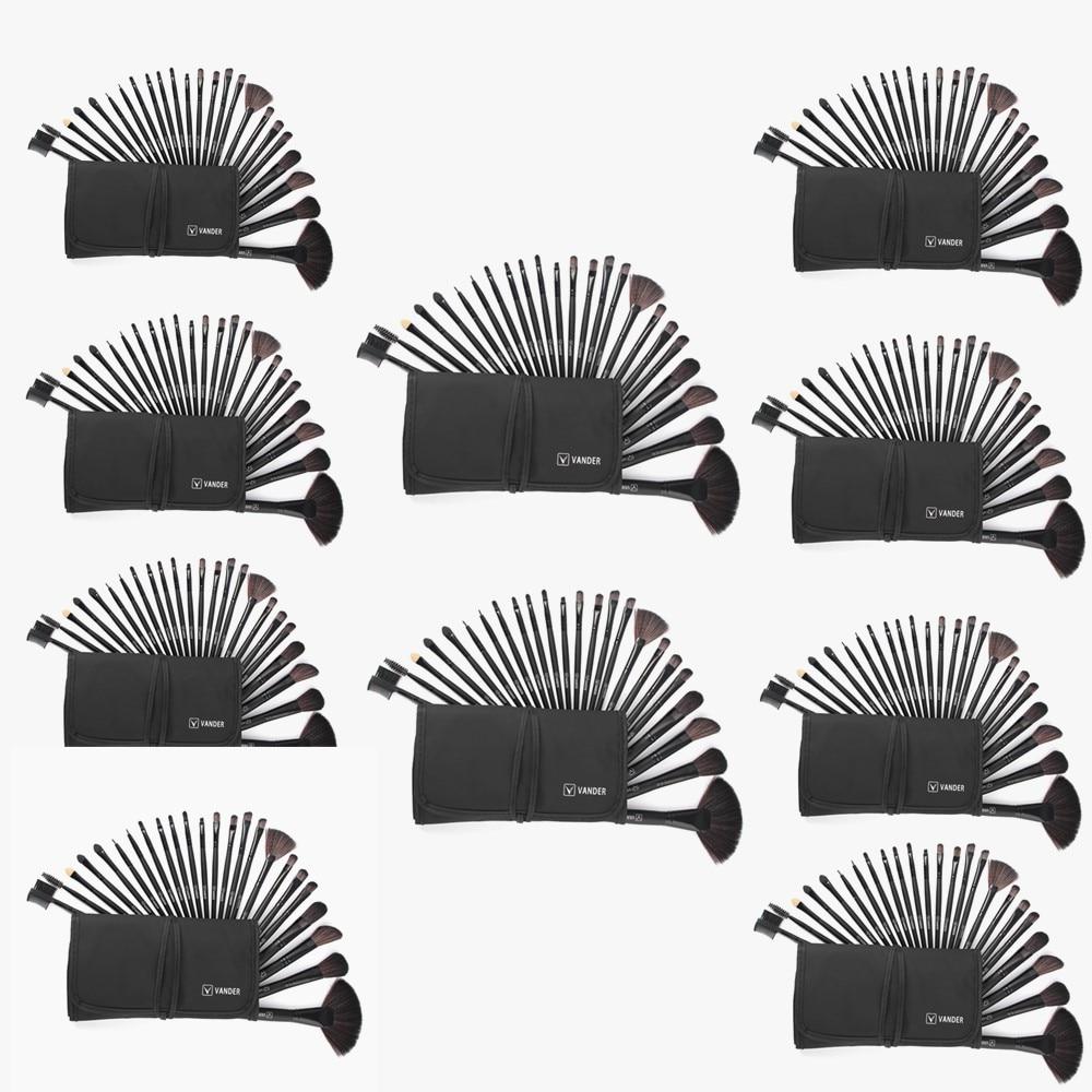 Women's 24pcs/kit Makeup Brushing Brushes Set Soft Synthetic Professional Cosmetic Make-up Foundation Powder Blush Beauty Bag 24pcs professional makeup brushes set foundation powder brush kit eyeshadow cosmetic make up tools soft hair with bag