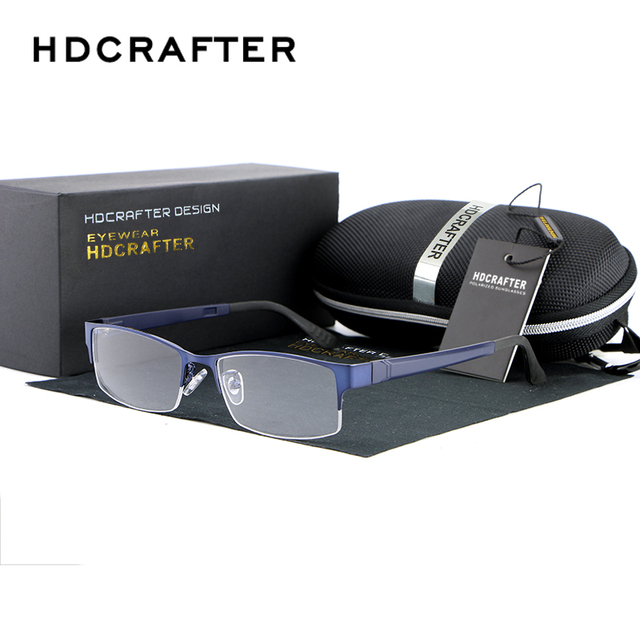 2017 HDCRAFTER Новые Очки Кадр Мужчины Женщины Близорукости Очки Мода Оптические Frame Обычная Зеркало Óculos