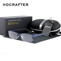 2017 hdcrafter Новый глаз Очки Рамка Для мужчин Для женщин Близорукость очки Мода Оптический Рамка плотная зеркало Óculos