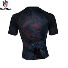 Martial:NEW ORIGINAL DESIGN Winter is coming mma rashguards shirt man gym compression bjj shirts