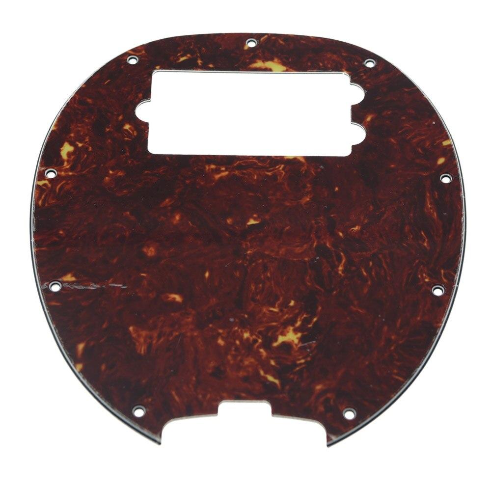 KAISH  Bass Pickguard MusicMan Stingray MM4 Scratch plate for  Music Man MM2 4 String Guitar Parts Vintage Tortoise