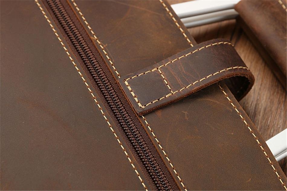 HTB1MSpXk7KWBuNjy1zjq6AOypXa8 Joyir 2019 Crazy horse leather briefcase for man coffee color vintage men genuine leather messenger bag business bags male