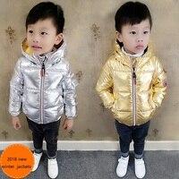 Boys Coat Children Winter Clothes Girls Warm Jacket Baby Boy Hooded Jackets Winter Padded Clothing Kids Snowsuit Infant Parkas