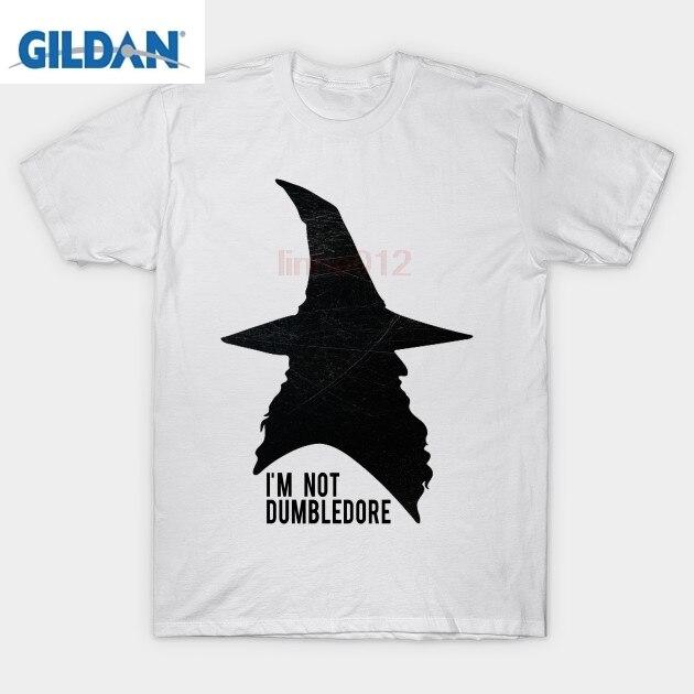 Harry t shirt i'm not Dumbledore Gandalf T-Shirt potter shirt