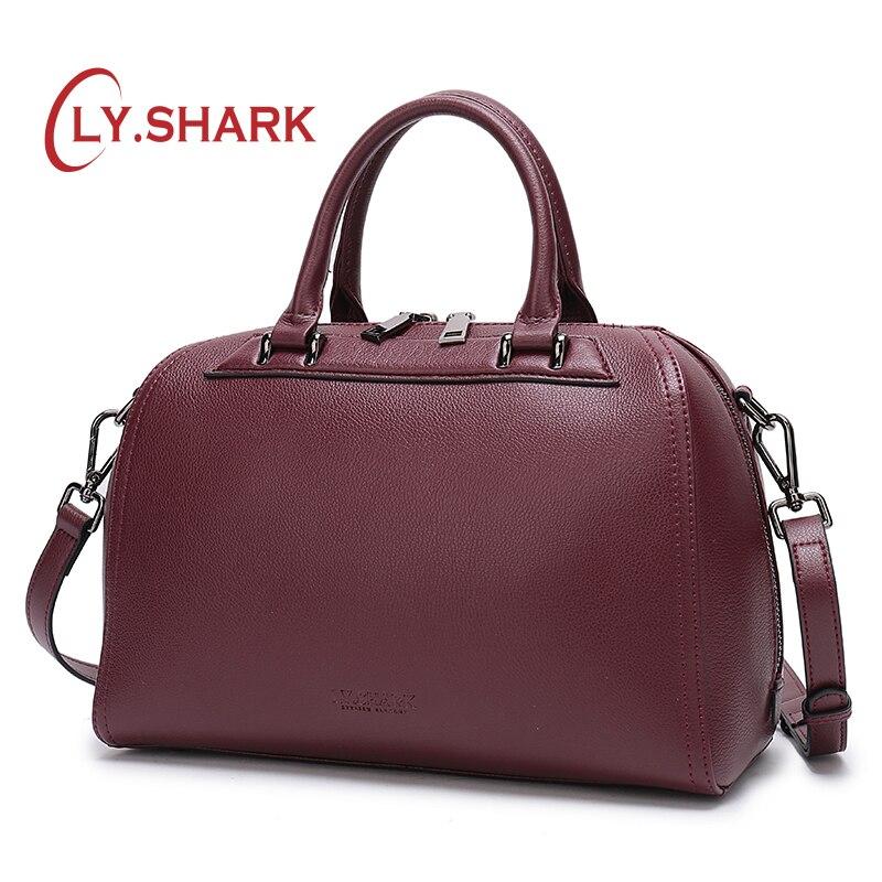 LY. SHARK для женщин сумки женские пояса из натуральной кожи сумки через плечо для 2019 женская сумка